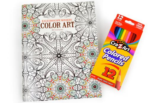 - Adult Coloring Book With Pencils Choose Hope